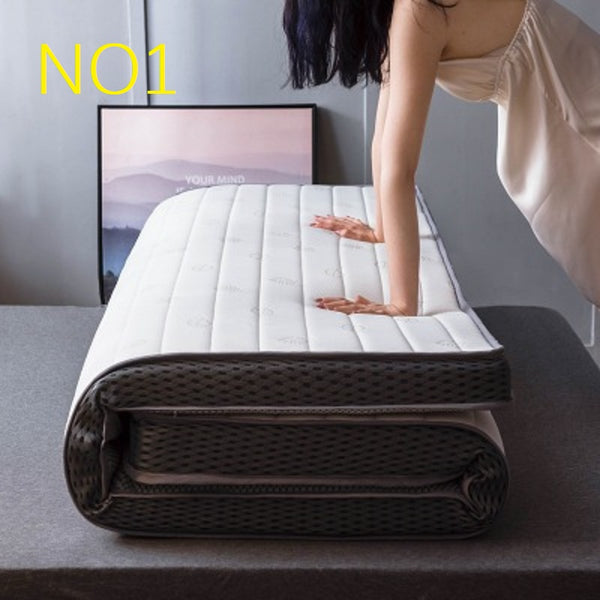 Natural latex Memory sponge filling stereoscopic Breathable Thicken 10 cm mattress Single double size