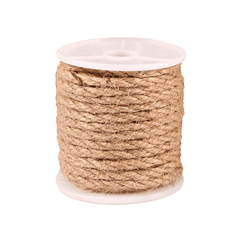 Cat Natural Sisal Rope for Scratching Post Tree Replacement Hemp Rope for Repairing Recovering or DIY Scratcher