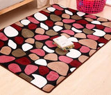 2018 New Coral Velvet Memory Foam Carpet Floor Mats Carpet the Living Room Office Bathroom anti-slip Carpet Doormat 9 Colors