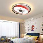 Spider Man Dream Modern led chandelier for children room boy room kids room bedroom home deco led ceiling chandelier fixtures