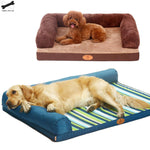 Soft Sponge Large Pet Dog Sofa Bed Cat Litter Winter Warming Kennel Cushion Mattress Puppy Sleeping Cushion Pad Pet Dog Supply