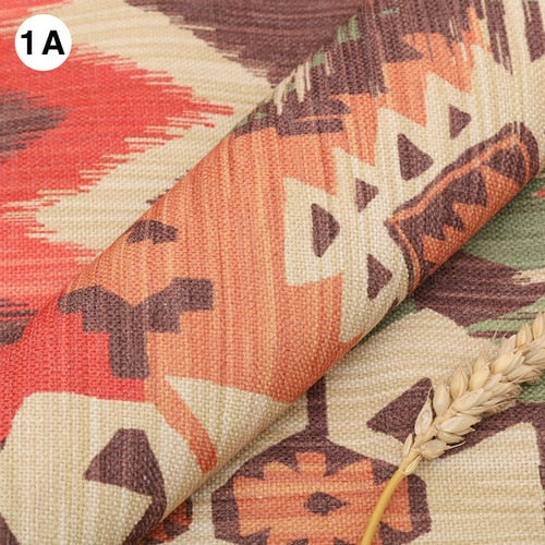 Width 145cm Wholesale Thick Upholstery Sofa Linen Cotton Old Coarse Cloth Bohemian style Diy Curtain Canvas Fabric