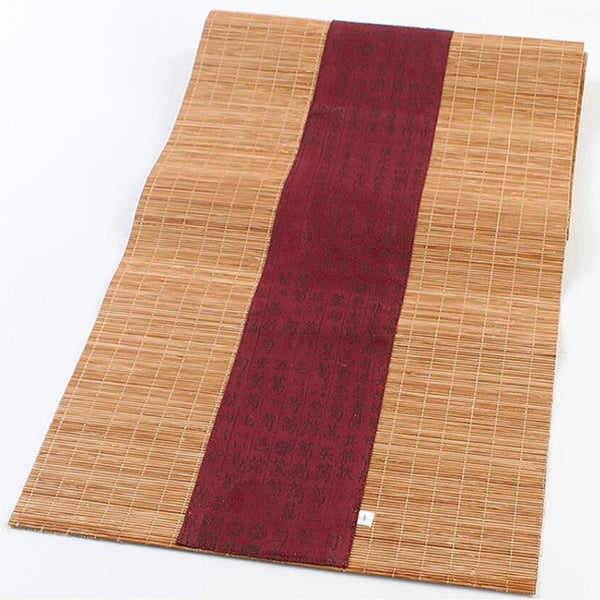 30*60cm Household Bamboo Table Flag Bamboo Coffee Table Tea Table Mat European Cloth Special Offer Table Flag Kitchen Supplies