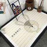Infant Shining 140X195CM Play Mat 2CM Thickness Baby Playmat Cartoon Living Room Rug Non-slip Children Room Mat Machine Washable