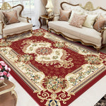 Vintage European Carpets For Living Room Thick Bedroom Carpet Sofa Coffee Table Floor Rug Large Luxurious Area Rug Study Mats