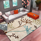 Nordic Abstract Flower Art Carpet For Living Room Bedroom Anti-slip Large Rug Floor Mat Fashion Kitchen Carpets Area Rugs