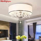 Modern crystal chandelier bedroom crystal lights home ceiling chandelier lighting for living room European pendant lamp dining