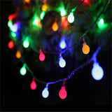 Garland 3M 5M 10M AA Battery LED Ball String Lights Christmas lights indoor Garland on Batteries Wedding Xmas Decoration light