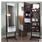 Dress Mirror Bedroom Multifunctional Jewelry Receiving Cabinet