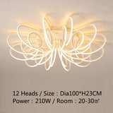 NEW Modern LED Chandeliers For Living Room Bedroom Diningroom Fixture Chandelier Ceiling lamp Dimming home lighting luminarias