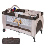 Crib Bedding Travel cot Child portable bed outdoor Multi-function travel portable baby Bad folding babies small game bed HWC