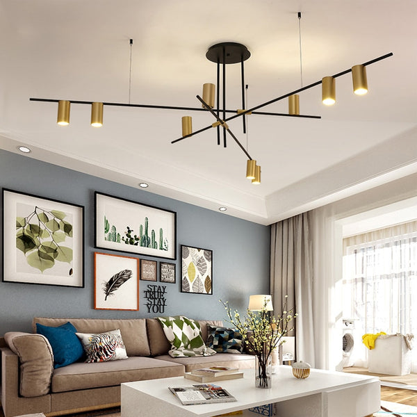 Creative Design LED Chandeliers Lighting Personality Hanging Branch Lamp for Living Room Cafe Bar Bar Studio Restaurant