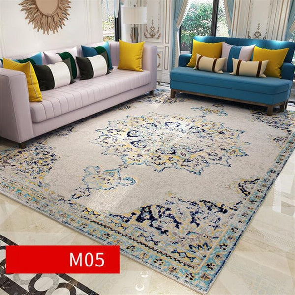 Soft Decorate House Persia Carpets For Living Room Bedroom Rugs Home Carpet Floor Door Mat Delicate Area Rugs Mats Large Carpet