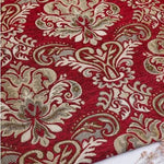 HLQON Euramerican style brocade thick Chenille Fabric For Cushion Material Curtain,Chair Quilting & Sewing Sofa,Table Cloth
