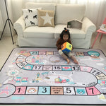 Child Play Mats Baby Crawling Mat Velvet Slow Rebound Thickened Carpet Anti-skid Crawling Pad Decorate Living Room for Children