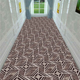 Nordic 3D Stereo Printing Corridor Carpet Area Rugs Living Room Carpets Kitchen Bathroom Anti-skid Floor Mat for Home Decorative