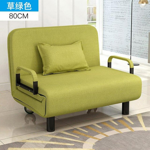 Lazy Sofa Bed Dual-use Folding Folding Bed Living Room Single Double Multifunctional Simple Folding Bed Small Apartment