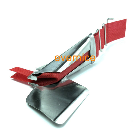 Single Fold Raw Edge Right Angle Binder For Single Needle Sewing Machines