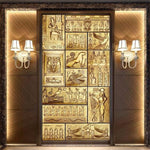 Beibehang art mural HD beauty of ancient Egyptian culture covering Home Decor Modern Wall Painting For Living Room 3D wallpaper