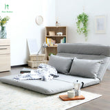 Louis Fashion New Japanese Style Tatami Folding Sofa Bed Cloth Bedroom Lounger Fashion Warm Multifunctional Double Single Bed