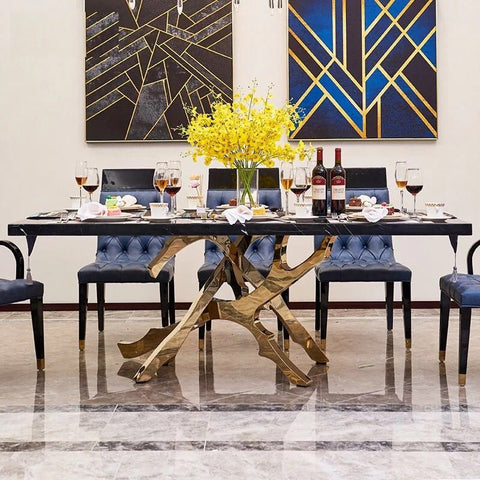 200X100X75 cm modern  desgin marble dining table furniture  W0204