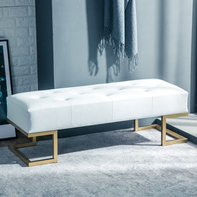 Louis Fashion Living Room Sofas Fitting Room Modern Scandinavian Modern Bench