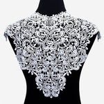 Misaya 1pc Lace Collar of 9 Style Beautiful Flower and Heart Venise Lace Applique Trim Lace Fabric Sewing Supplies Lace Neckline