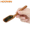 HOOMIN Natural Bamboo Tea Scoop Retro Style High Quality Delicate Spoon for Tea Honey Sauce Coffee Tea Leaves Chooser Holder