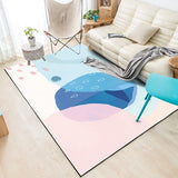 Nordic Minimalist Carpets For Living Room Home Bedroom Colorful Geometric Watercolor Coffee Table Area Rugs Kids Play Floor Mats