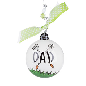 Dad Grilling Ornament