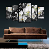 Extra Large Orichid Flower Orchid Canvas Art Modern Wall Dining Room Prints
