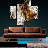 Large Modern Abstract Wall Art Print Painting Bedroom Four Panels