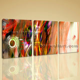 Large Modern Abstract Wall Art Contemporary Decor Triptych Pieces Prints