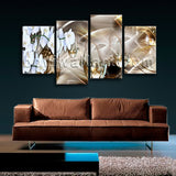Large Modern Abstract Floral Orchid Flower Hd Print Art Painting Prints