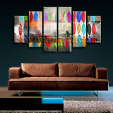 Extra Large Contemporary Abstract Painting Print On Canvas Dining Room Giclee
