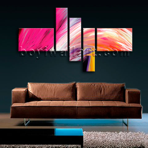 Huge Contemporary Abstract Painting Canvas Art Oil Living Room Print
