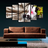 Extra Large Modern Abstract Floral Hd Print Wall Decor Dining Room Prints