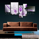Extra Large Abstract Flower Floral Hd Print Modern Oil Painting Prints