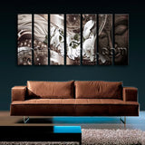 Extra Large Feng Shui Buddha Canvas Art Modern Painting 7 Pieces Prints