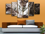 Extra Large Feng Shui Buddha Print Modern Canvas Art Dining Room Prints