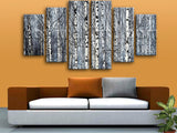 Extra Large Nature Tree Forest Picture Wall Art Dining Room Six Pieces Print