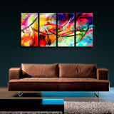Large Abstract Paintings Wall Art Contemporary Decor Bedroom Prints