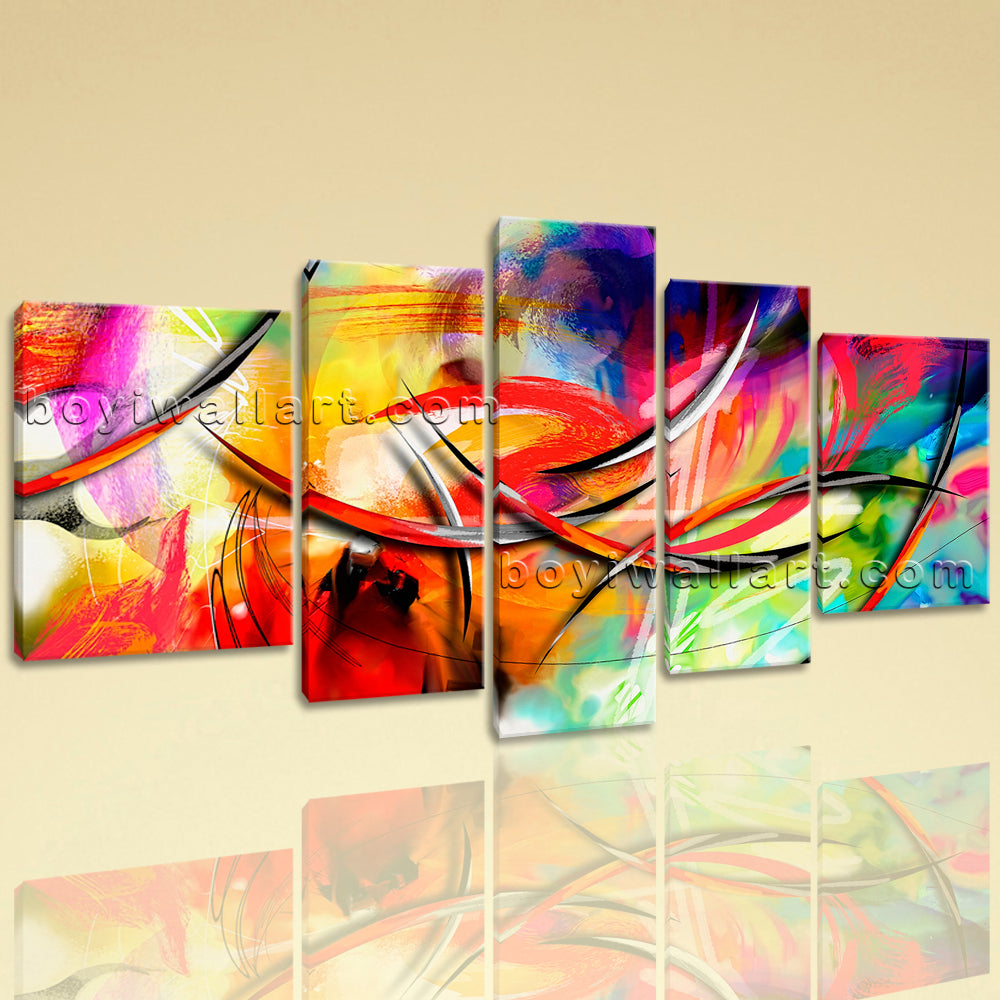 Extra Large Abstract Paintings Wall Decor Painting On Canvas Prints