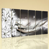 Large Modern Abstract Wall Art Floral Canvas Home Decor Living Room Print