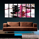 Extra Large Feng Shui Relaxing Floral Canvas Art Modern Painting On Prints