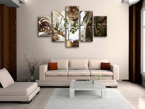 Large Feng Shui Buddha Wall Decor Modern Art Painting Dining Room Prints