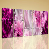 Large Modern Abstract Wall Art Floral Painting Dining Room Prints