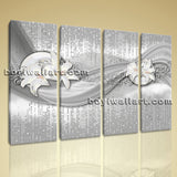 Large Modern Abstract Wall Art Picture Decor Living Room Four Pieces Prints