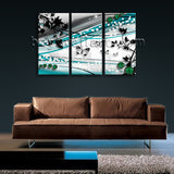 Large Modern Abstract Wall Art Decor Painting Bedroom 1 Panels Print