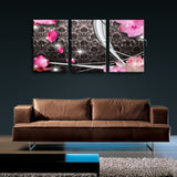 Large Modern Abstract Wall Art Decor Living Room Triptych Pieces Print